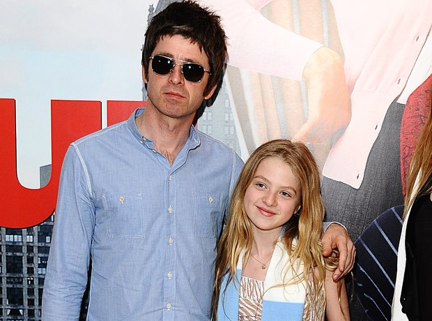 Noel Gallagher an daughter Anais