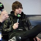 Jake Bugg XFM Winter Wonderland 2013 backstage
