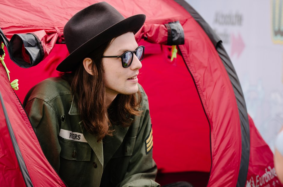 James Bay at Isle Of Wight Festival