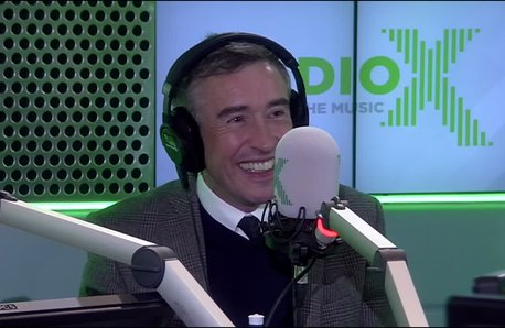 Steve Coogan Chris Moyles Show