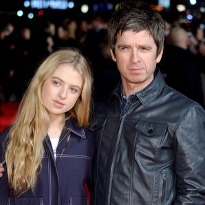 Anais and Noel Gallagher
