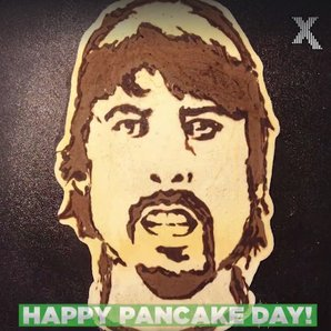 Dave Grohl pancake