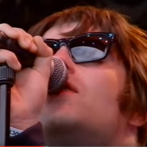 Oasis at Glastonbury 2004 footage