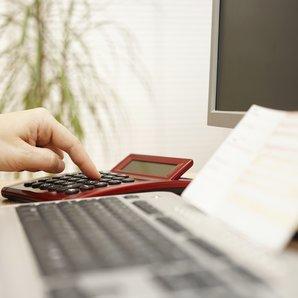 Invoicing Stock image