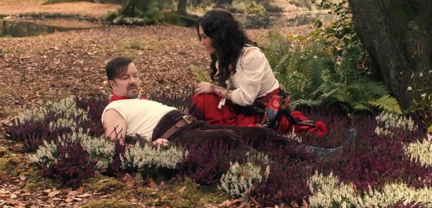 Ricky Gervais as David Brent In Lady Gypsy Video S