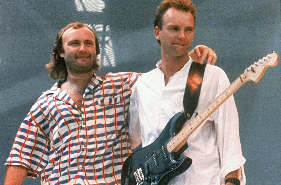 Phil Collins and Sting