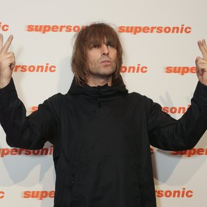 Liam Gallagher at the Supersonic Premiere 2016