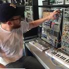 Radiohead Fan in synth shop