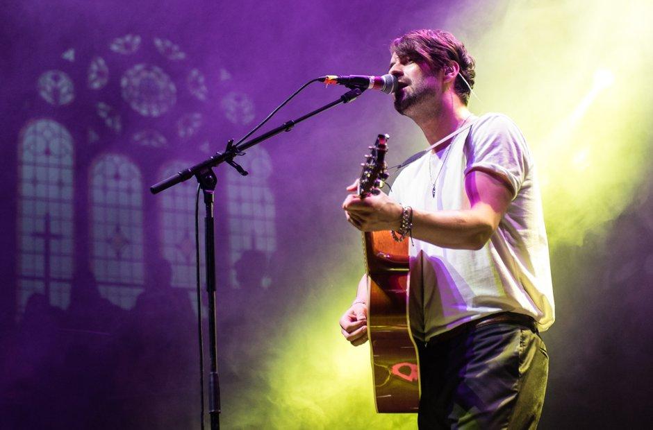Liam Fray at the Albert Hall - Neighbourhood Festi