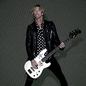 Guns N Roses Duff McKagan performing 2016