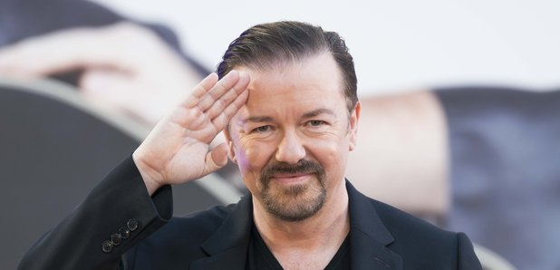 Ricky Gervais in 2016