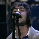 Oasis performing Live Forever on Letterman 8 March