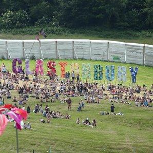 Glastonbury Sign 2015