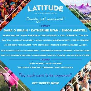 Latitude Festival comedy