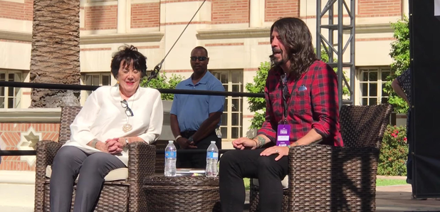 Dave Grohl mother cringeworthy jazz drumming story