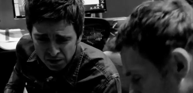 Noel Gallagher and Damon Albarn Gorillaz studio mo