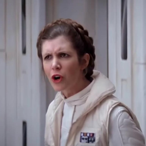 Princess Leia in Star Wars Mash Up All Stars Video