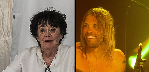 Dave Grohl's mother Virginia Hanlon Grohl and Tayl