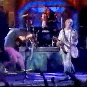 Krist Novoselic Nirvana face bash