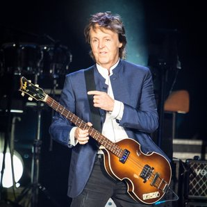 Paul McCartney performing in 2016