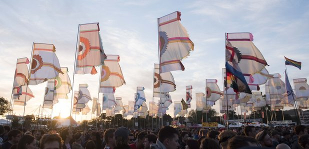 Glastonbury West Holts area stage 2015