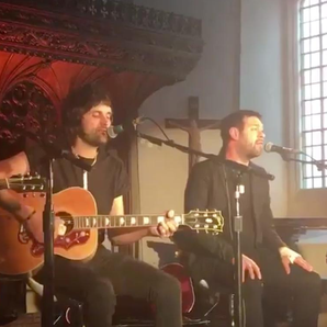 Kasabian play intimate set at St Laurence's Church