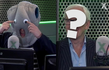 Chris was impressed with his mystery guest