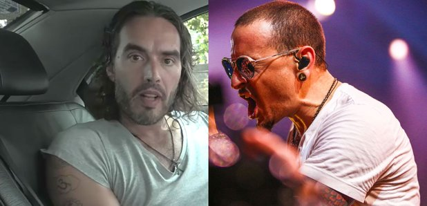 Russell Brand and Linkin Park's Chester Bennington
