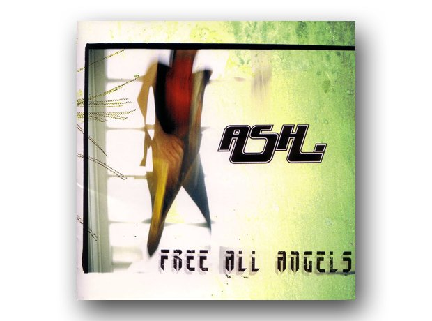 Ash - Free All Angels album cover