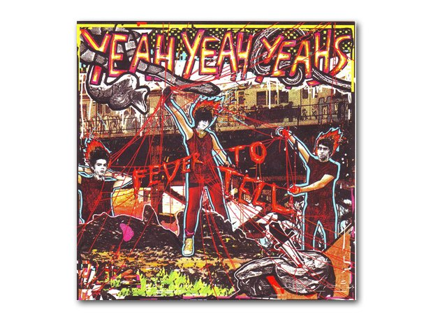 Yeah Yeah Yeahs - Fever To Tell album cover